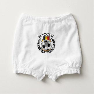 Belgium Soccer 2016 Fan Gear Diaper Cover