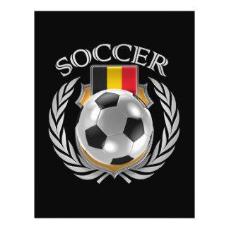 Belgium Soccer 2016 Fan Gear Flyer