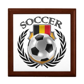 Belgium Soccer 2016 Fan Gear Jewelry Box