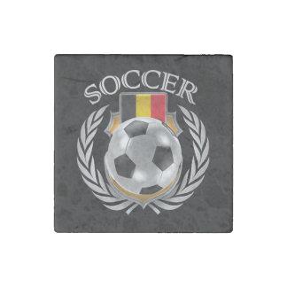 Belgium Soccer 2016 Fan Gear Stone Magnet