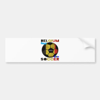 BELGIUM SOCCER TEAM CUSTOMIZABLE PRODUCTS BUMPER STICKERS