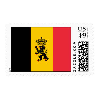 Belgium State Flag Postage