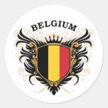 Belgium Stickers
