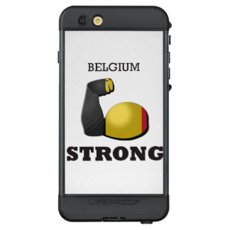 Belgium Strong Muscle Flag LifeProof NÜÜD iPhone 6s Plus Case