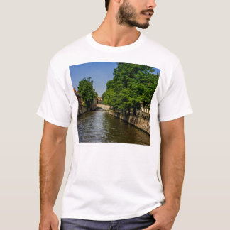 Belgium Travel Photography, Bruges Canal T-Shirt
