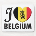 Belgium v2 Love Mouse Pad