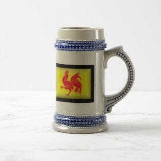 Belgium-Walloon Flag Mugs