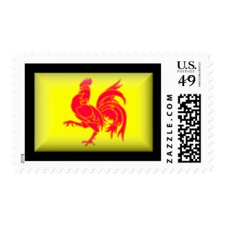 Belgium-Walloon Flag Postage