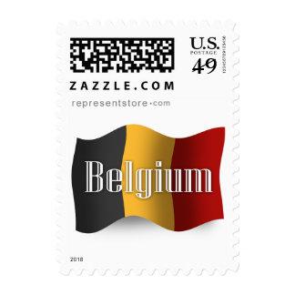 Belgium Waving Flag Postage