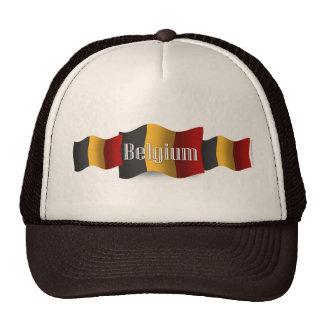 Belgium Waving Flag Trucker Hat