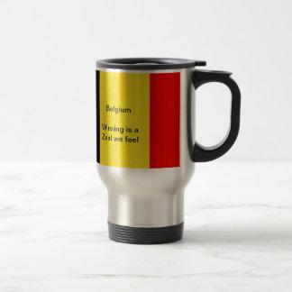 Belgium winners travel mug