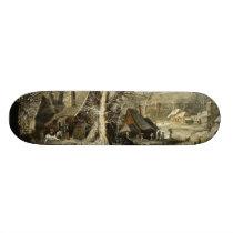 Belgium Winter Wonderland - Leytens Skateboard Deck