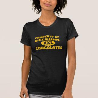 Belgium XXL Chocolates Tee Shirt