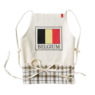 Belgium Zazzle HEART Apron