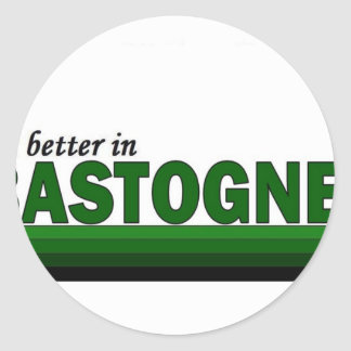 belgiumbastognebttr classic round sticker