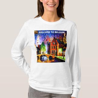 BELGIUMT-ShirtBY MOJISOLA A GBADAMOSI OKUBULE DESI T-Shirt