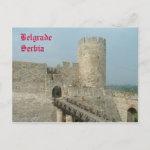 Kalemegdan Fortress Belgrade Serbia Postcard