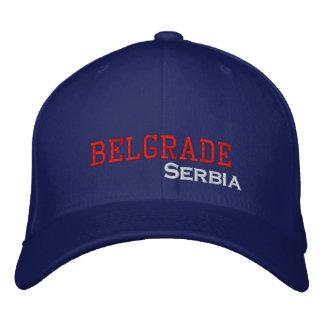 Belgrade City Serbia Cap