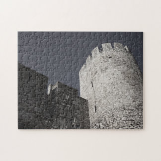 Belgrade Medieval Fortress Stone Wall and Tower Jigsaw Puzzle