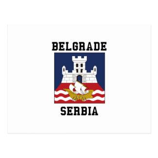 Belgrade Serbia Postcard