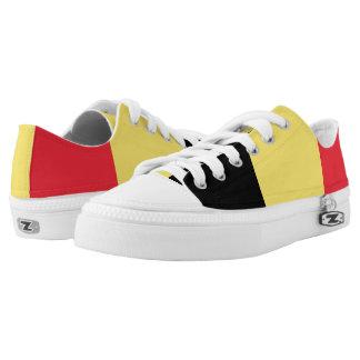 Belguim Flag Low-Top Sneakers