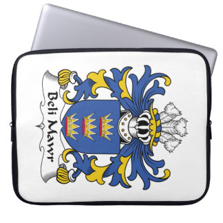 Beli Mawr Family Crest Computer Sleeves