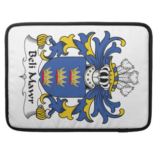 Beli Mawr Family Crest MacBook Pro Sleeves