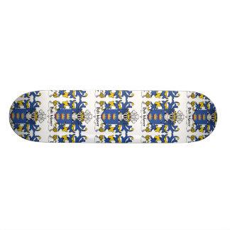 Beli Mawr Family Crest Skate Board Deck