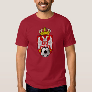 Beli Orlovi White Eagles Serbia Srbija soccer Tee Shirt