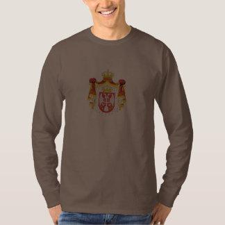 Beli Potok, Serbia with coat of arms T-shirt