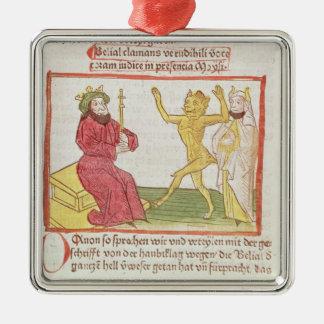 Belial baila ante rey Solomon Adornos