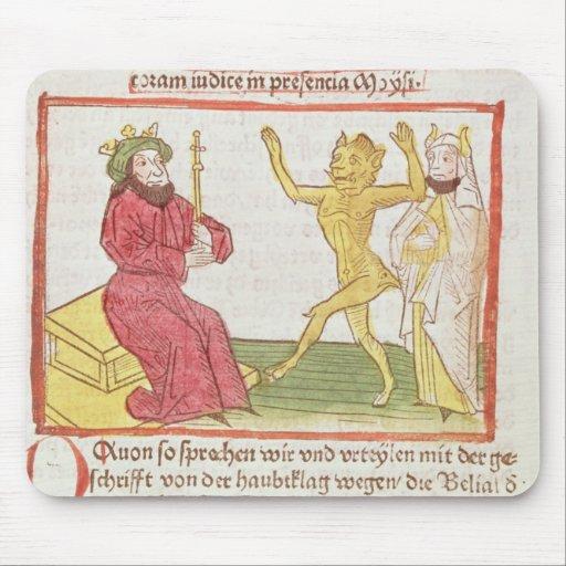 Belial baila ante rey Solomon Alfombrilla De Ratón