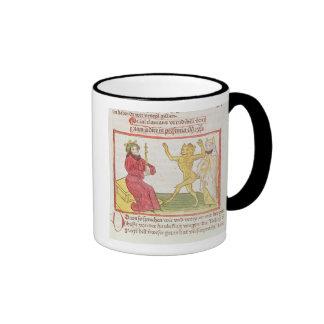 Belial baila ante rey Solomon Tazas De Café