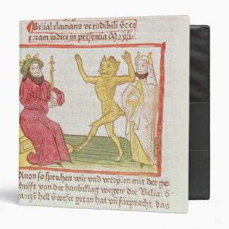 Belial dances before King Solomon Vinyl Binder