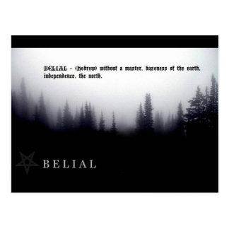 BELIAL POSTALES