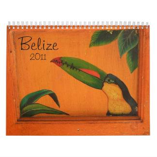 Belice 2011 calendario