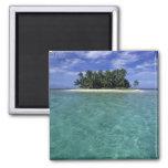 Belice, barrera de arrecifes, isla innomada o isle imán para frigorífico