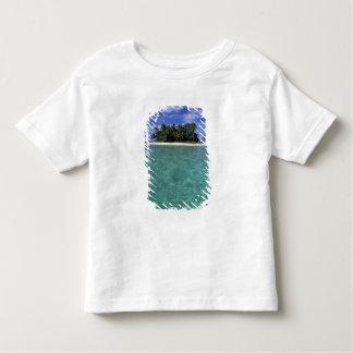 Belice, barrera de arrecifes, isla innomada o playera de bebé