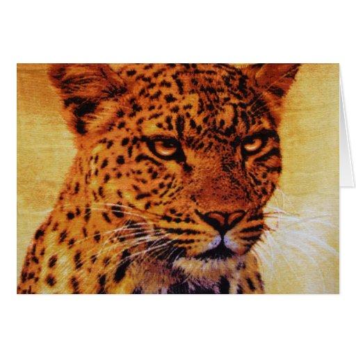 Belice Jaguar Tarjeta De Felicitación