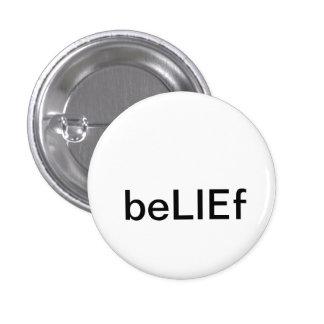 beLIEf 1 Inch Round Button