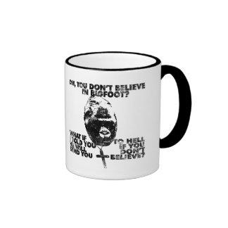 Belief in Bigfoot Coffee Mug
