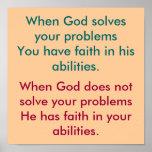 Belief in God Poster