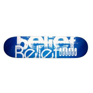 Belief; Royal Blue Stripes Skate Decks
