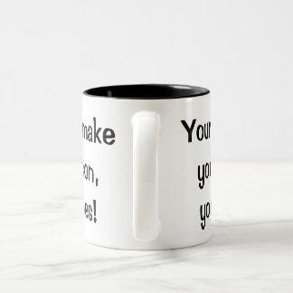 Beliefs vs Behavior Mug