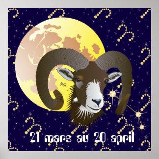 Bélier 21 mars de 20 pósteres au avril