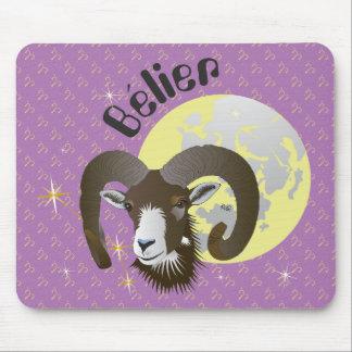 Bélier 21 Mars outer 20 avril Tapis de souris Mouse Pad