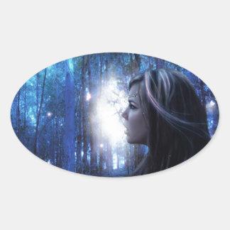 Believe 2005 oval sticker