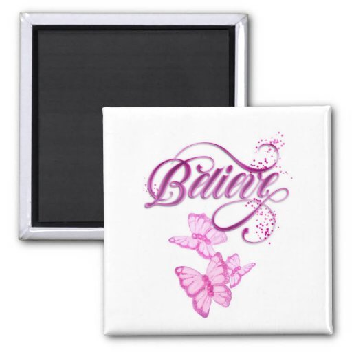 Believe 2 Inch Square Magnet