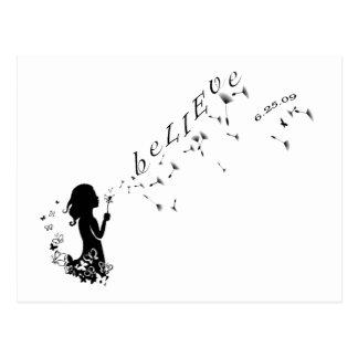beLIEve 6.25.09 Wishes Postcard
