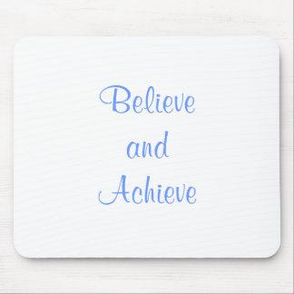 Believe Achieve mouse pad